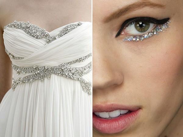 glittery pair