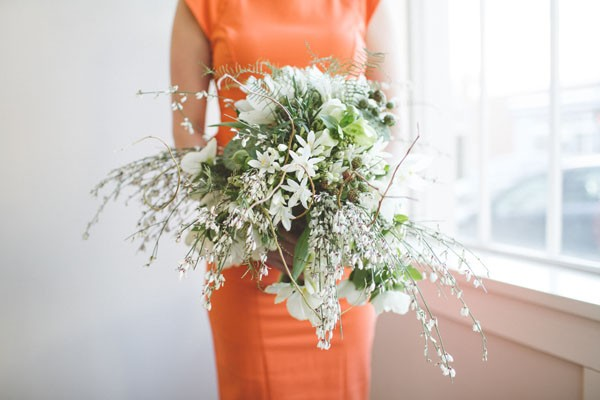 wild green bouquet