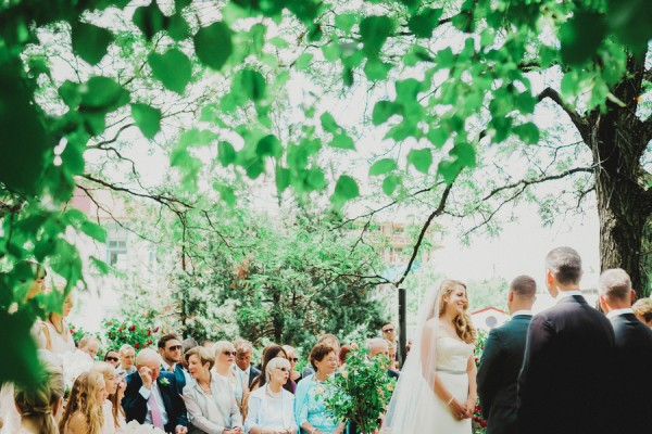 outdoor brooklyn ceremony