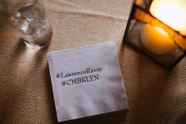 hashtag napkins