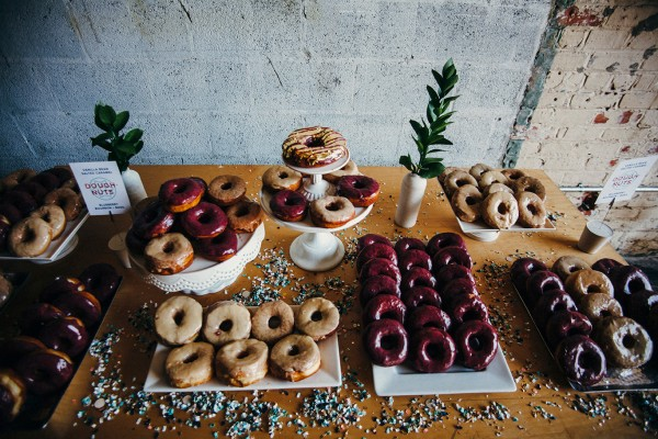 doughnut dessert table