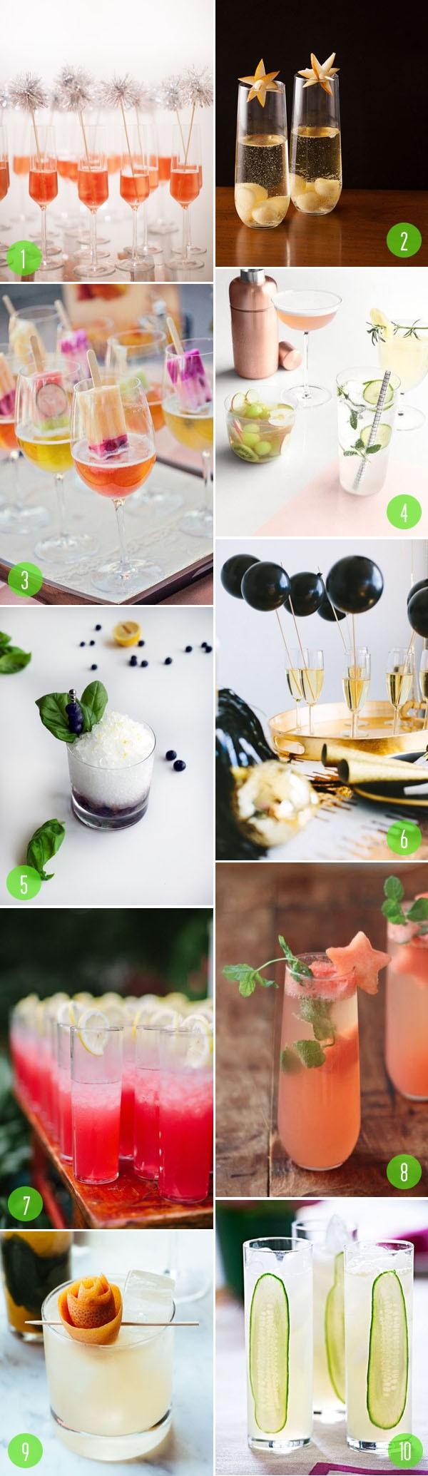 top 10: signature drinks