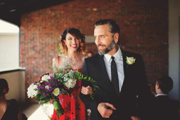 industrial parisian wedding inspiration