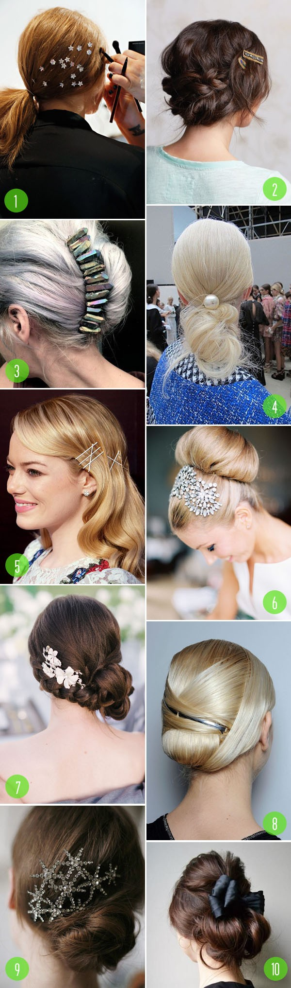 top 10: hair - accessorized