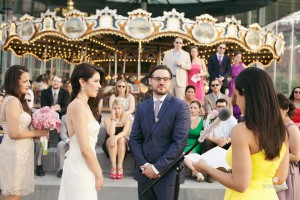 wedding at janes carousel