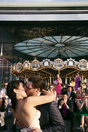 kiss at the carousel