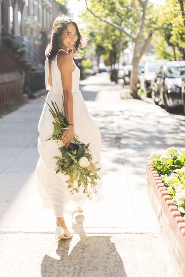 ef39c929c5d7 BHLDN shoot around Brooklyn - Brooklyn Bride - Modern Wedding Blog