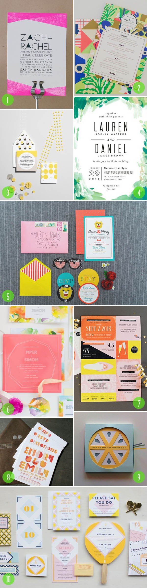 bright invites