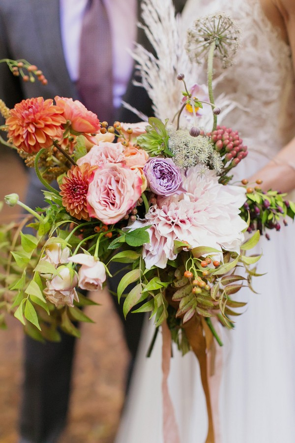 forest inspired bouquet
