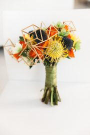 geometric bouquet