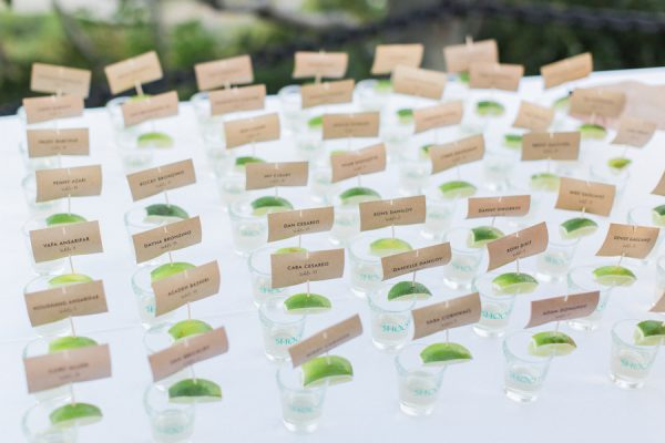 mini margharita escort cards