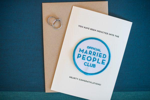 married people card