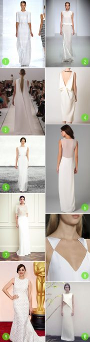 minimal dresses