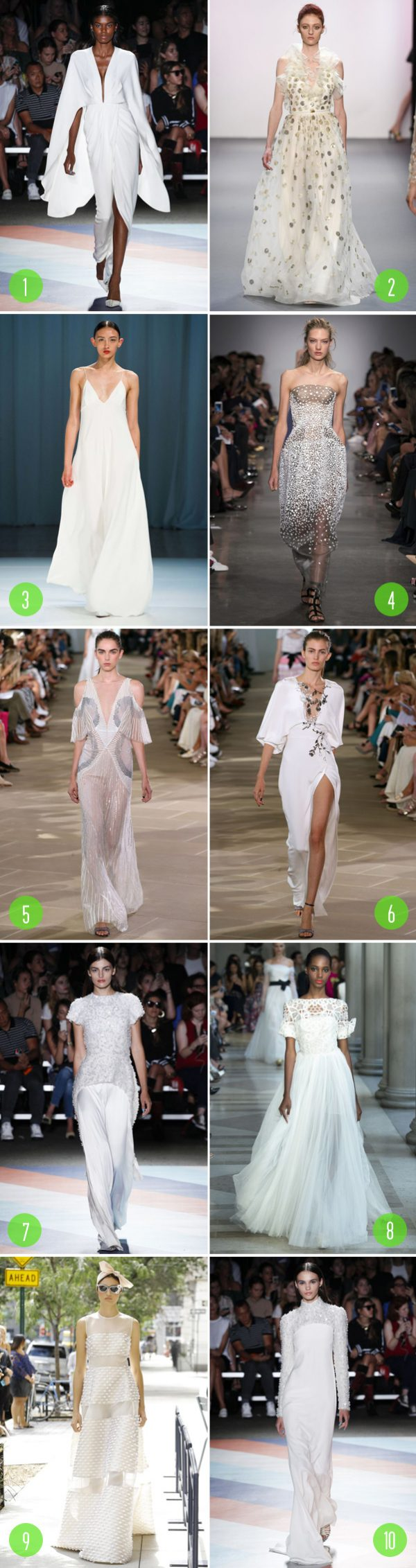 Top 10: NYFW bridal inspirations 4