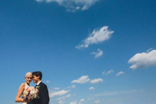 Real wedding: Courtney + Abe 8