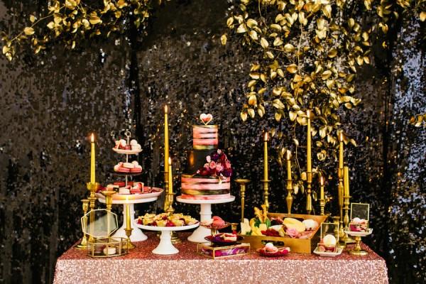 valentine dessert bar