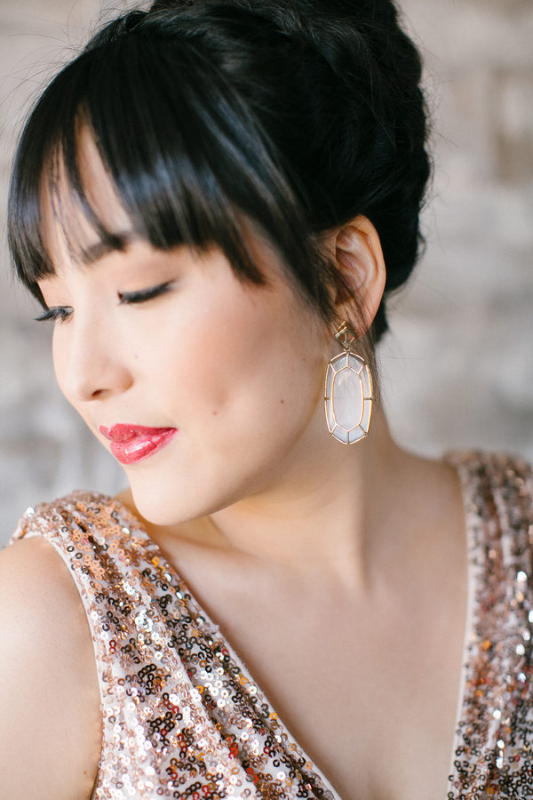10 Bright + Bold Wedding Earrings 4