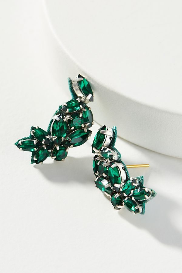 10 Bright + Bold Wedding Earrings 9