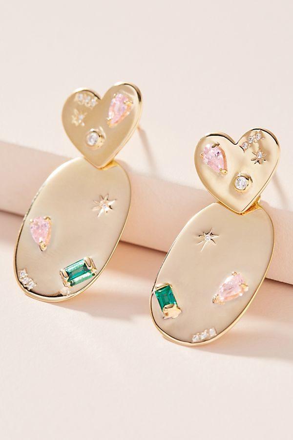 10 Bright + Bold Wedding Earrings 8