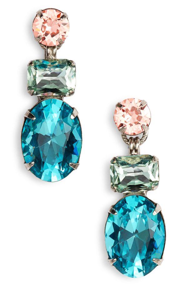 10 Bright + Bold Wedding Earrings 3