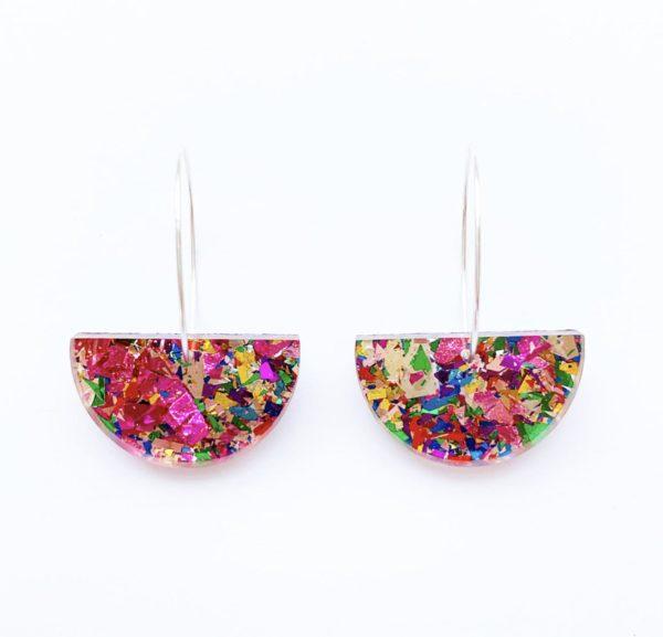 10 Bright + Bold Wedding Earrings 5