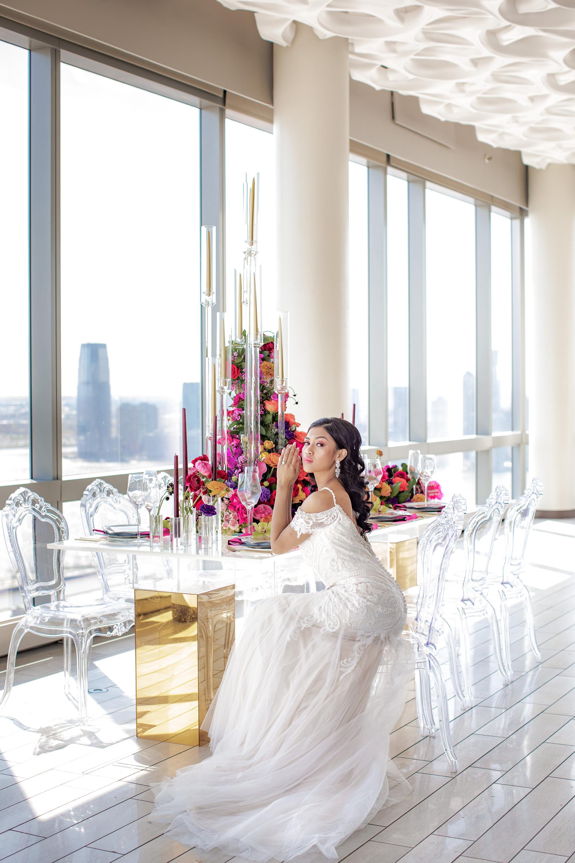 Bold Modern Wedding Reception Inspiration