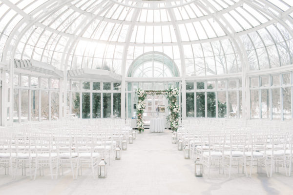 Brooklyn Botanic Garden Winter Wedding 1