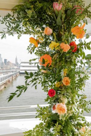 Floral Wedding Ceremony Arch