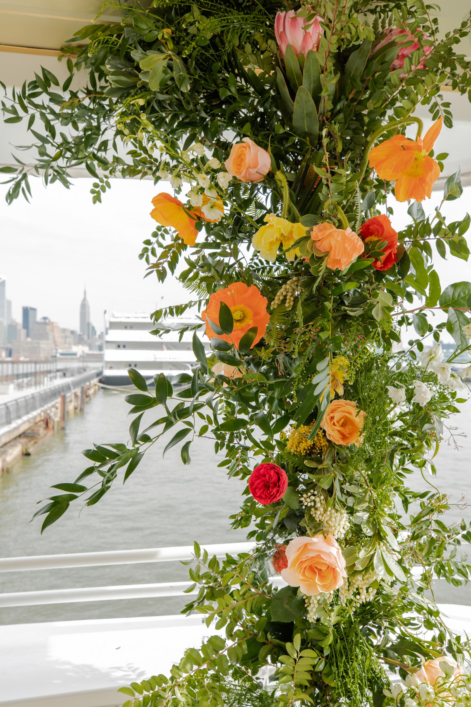 Modern Tropical Yacht Wedding Inspiration 12