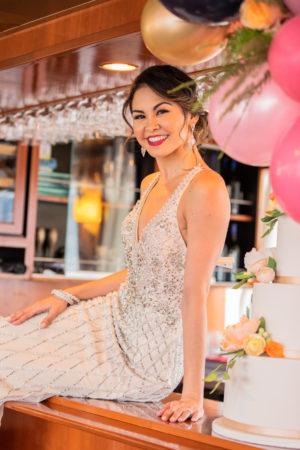 Glamorous Elegant Wedding Gown