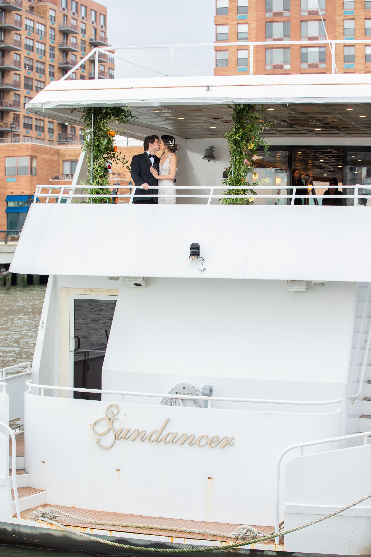 Modern Tropical Yacht Wedding Inspiration 22