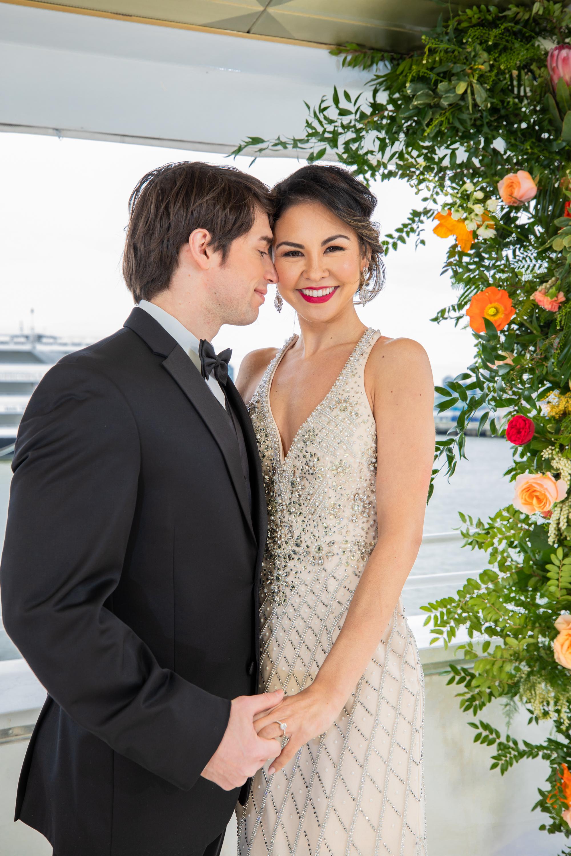 Modern Tropical Yacht Wedding Inspiration 15