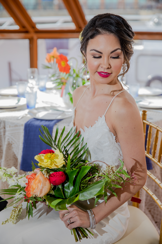 Modern Tropical Yacht Wedding Inspiration 9