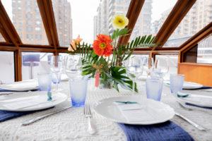 Modern Tropical NYC Yacht Wedding by Veronica Phogoraphy-2
