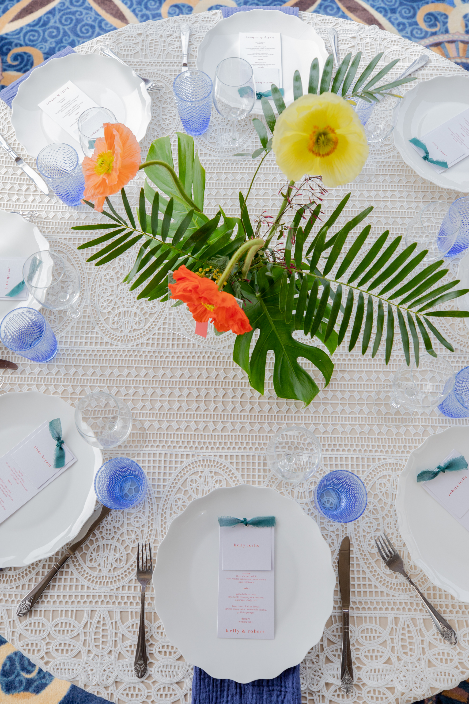 Modern Tropical Yacht Wedding Inspiration 10