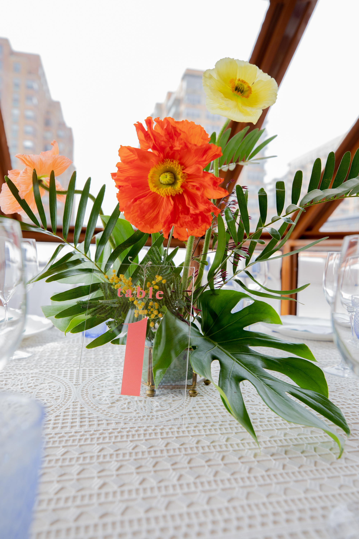 Modern Tropical Yacht Wedding Inspiration 7