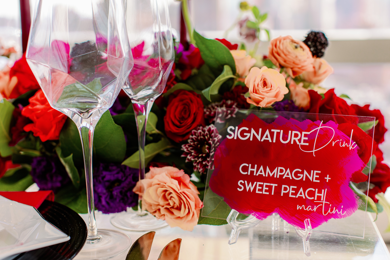 Signature Cocktail Wedding Sign