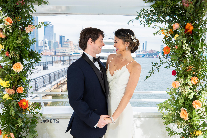 Modern Tropical Yacht Wedding Inspiration 5