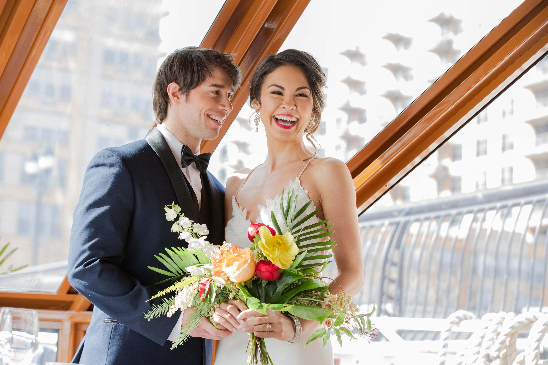 Modern Tropical Yacht Wedding Inspiration 11