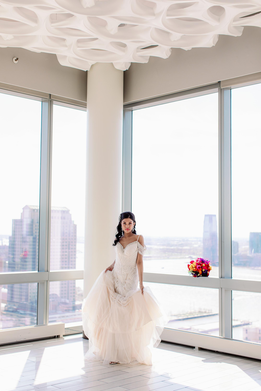 Bold Modern Colorful Wedding Inspiration Simone Vega-8