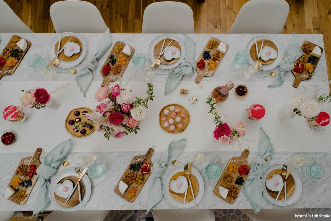 Galentine's Brunch Bridal Shower Inspiration 11