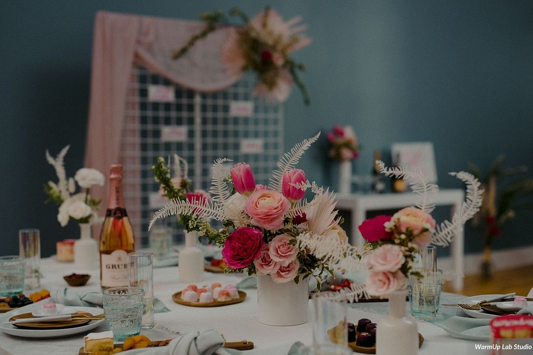Galentine's Brunch Bridal Shower Inspiration 1