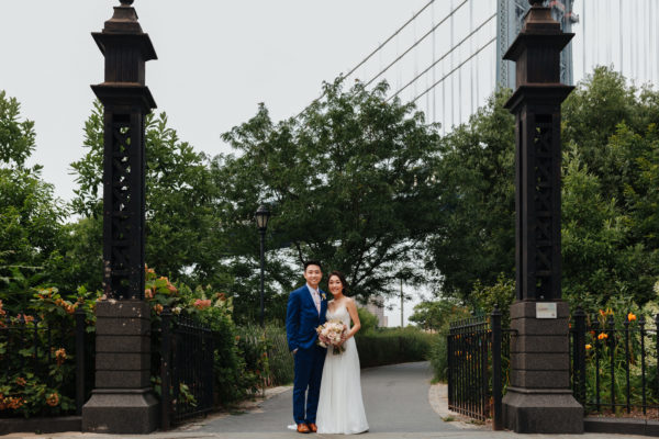 Dumbo Park Wedding Photo