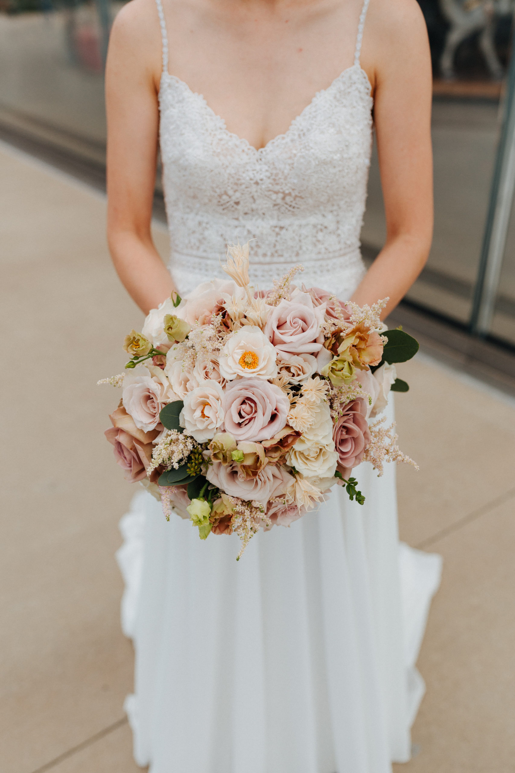 Modern Neutrals Summer Wedding 8