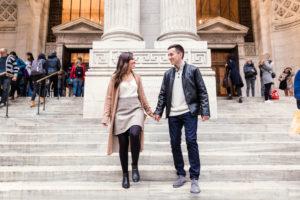 NYPL Engagment Photos