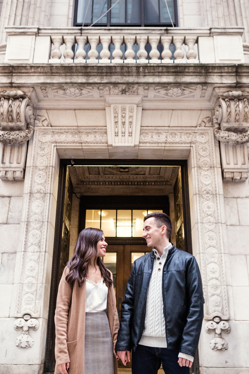 Rainy + Romantic NYC Engagement 2