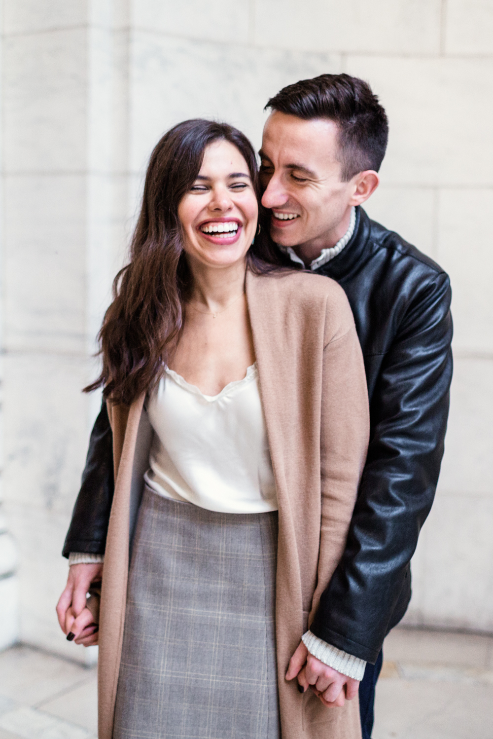 Rainy + Romantic NYC Engagement 6