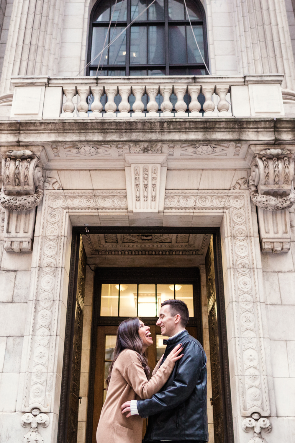 Rainy + Romantic NYC Engagement 3