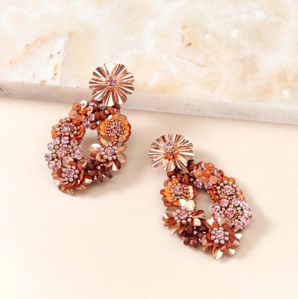 10 Bright + Bold Wedding Earrings 6