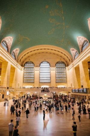 Grand Central Station Wedding Photo